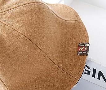ACVIP Unisex Men Women Foldable Warm Bucket Beach Hat for Autumn Winter