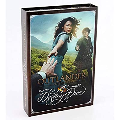 Toy Vault TYV24002 Outlander Destiny Dice Board Game: Toys & Games