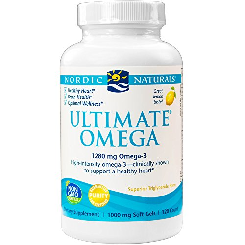 Nordic Naturals - Ultimate Omega, Support for a Healthy Heart, 120 Soft Gels (FFP)