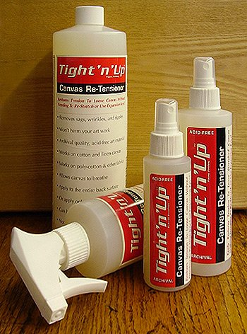 Masterpiece Artist Canvas Tight-n-Up Canvas Retensioner Spray, 16-Ounce (9872)