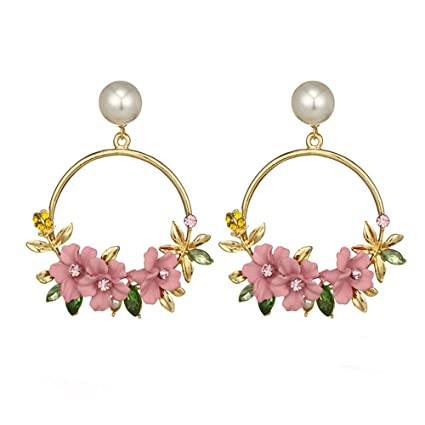 Sensible New Fashion Simulated Pearl Stud Earring Crystal Bow Pearl Earrings Accessories Pearl Bow Jewelry Gifts Elegant And Sturdy Package Earrings