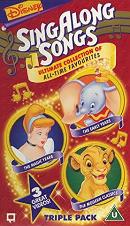 f937870d9 Sing Along Songs - Ultimate Collection  Triple Pack  VHS ...