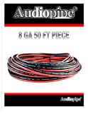 8 gauge stranded wire - Red Black 8 Ga 50' Speaker Woofer Wire Cable Car Home Audio Stranded Copper Mix