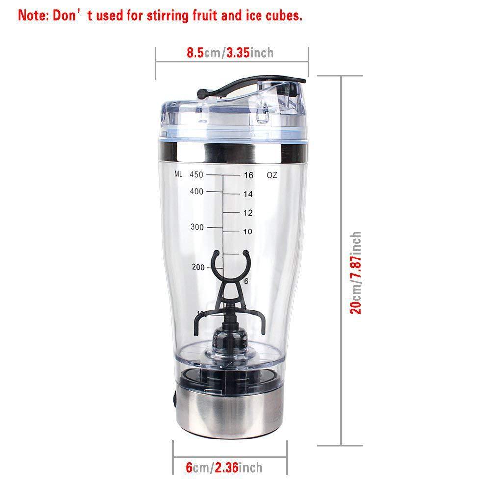 Diafrican Elegante Electrico vaso mezclador proteinas coctelera el/éctrica agitador batidos de proteina vortex mixer recargable