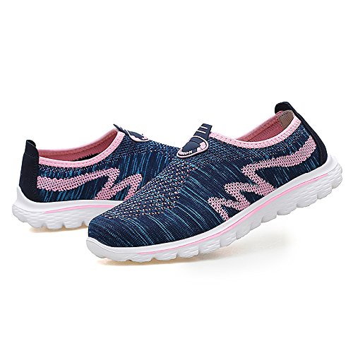 Sport Shoes for Men and Women Fashion Running Shoes Slip on Blue01 Sm2588 o4cLzb4LHN