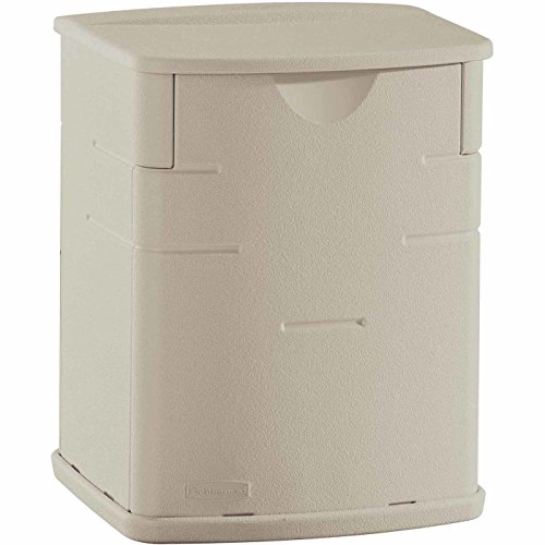 T-rex Sand Naturals (Outdoor Storage Patio furniture Mini Deck Box)