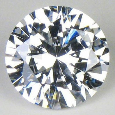 LOOSE ROUND CZ CUBIC ZIRCONIA 13mm CZ STONE 8.51 Carat equivalent Hand Inspected Premium Quality CZ