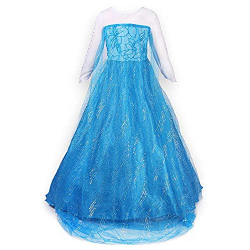 Uniq Fliker Princess Dress Costume for Little Girl's Comfort in Mind Elegant Style - http://coolthings.us