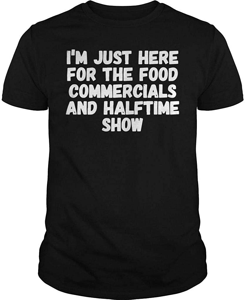 Partners & Fay I'm just here for The Food Commercials and Halftime Show T Shirt