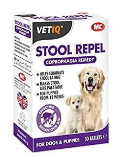 Repel-um M&c Stool Deters Stool Eating For Dogs & Puppies (30 Tablets)