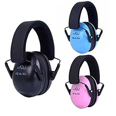 Safety Ear Muffs Adjustable Noise Canceling Ear Hearing Protection for Shooting Firing Range, Yard Work, Job Sites, Suitable for Men Women Kids