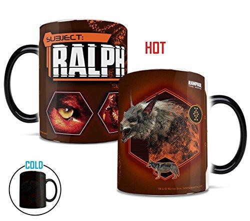 Rampage – Ralph – Morphing Mugs Heat-Sensitive Mug – Ceramic color-changing heat reveal coffee tea mug – by Trend Setters Ltd.