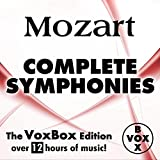 Mozart: Complete Symphonies (The VoxBox Edition) Album Cover