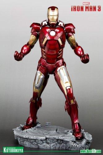 Iron Man Marvel Movie 3 Mark VII Pre-Paint Model Kit 1/6 Scale