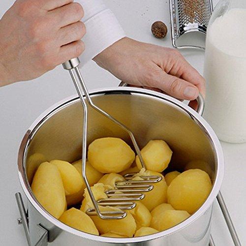 Rasuradora de patatas de acero inoxidable con mango ...