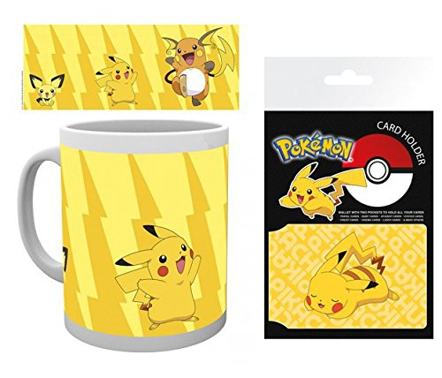 Set: Pokemon, Pikachu Evolve Photo Coffee Mug (4x3 inches...