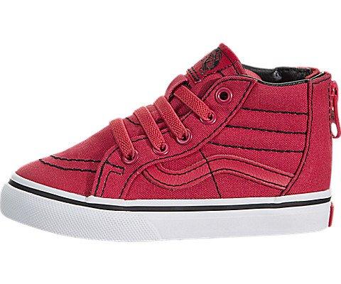 Vans Sk8-Hi Zip (Toddler) (Red Vans Infant)