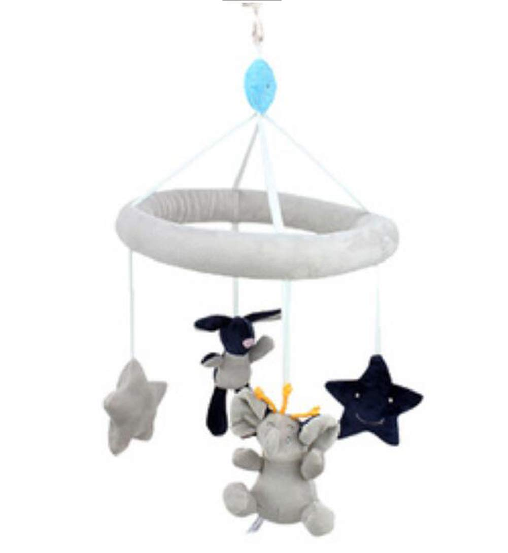 Circus and Elephant Rotatable Crib Mobile Super Cute Decor Baby Toys