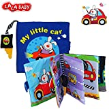 LALABABY Rabbit Cloth Book Baby Educational Toys for 0-3 Years