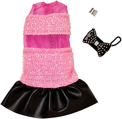 Barbie Complete Looks Sheer Stripe Shift Dress - Boxy Sheer