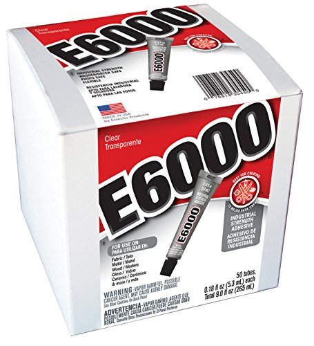 E6000 230450 Craft Adhesive, 0.18 fl oz,  50 Piece Box