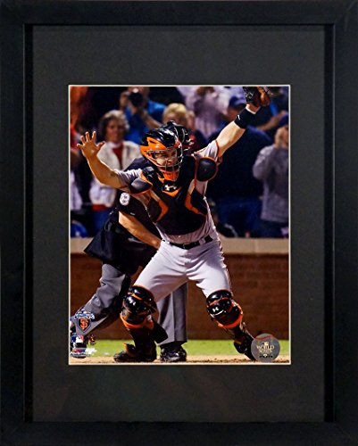 San Francisco Giants Buster Posey 2010 World Series 8x10 Photograph (SGA UnderFifty Series) Framed