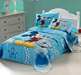 Cartoon Mickey and Minnie Mouse Bedding Set 3 Pcs for Kid,children,girls,boy Twin Size (2)