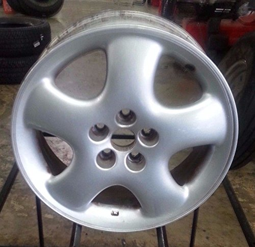 Painted Silver Alloy Wheel - 5