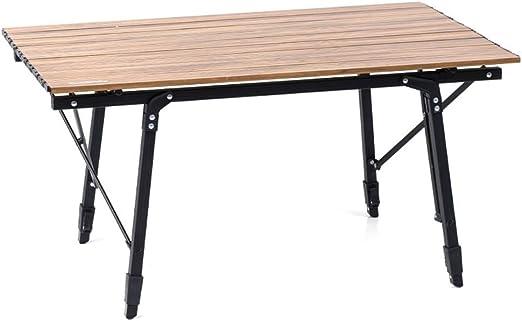 Mesa de picnic para exteriores/mesa plegable, ajuste de altura ...