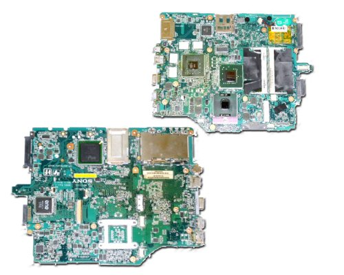 (Sony Vaio VGN-FZ140 FZ150 FZ180 MOTHERBOARD A1273687A B-9986-052-5 MBX-165 motherboard.)
