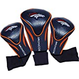 Team Golf Denver Broncos 3 Pack Contour Headcover Golf Bag