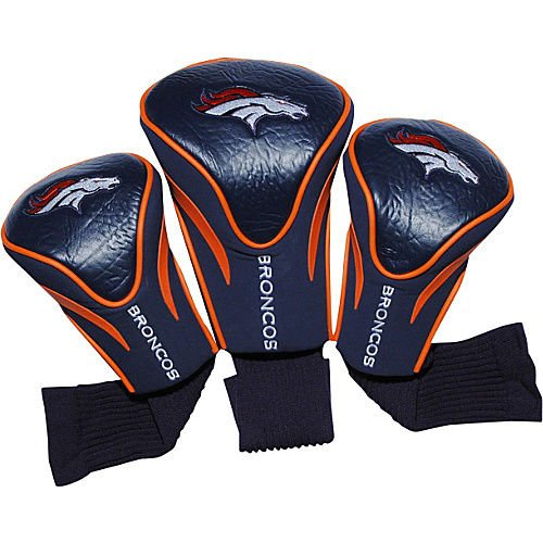 Team Golf Denver Broncos 3 Pack Contour Headcover Golf (Florida Gators Cart Bag)