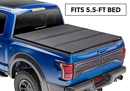 Cover Fold Truck Tonneau (Extang Solid Fold 2.0 Hard Folding Truck Bed Tonneau Cover | 83475 | fits Ford F150 (5 1/2 ft bed) 15-18)