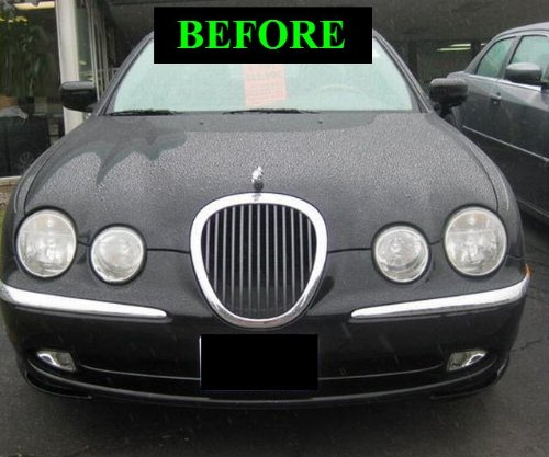 1999 2006 jaguar s type s type chrome grill grille kit. Black Bedroom Furniture Sets. Home Design Ideas