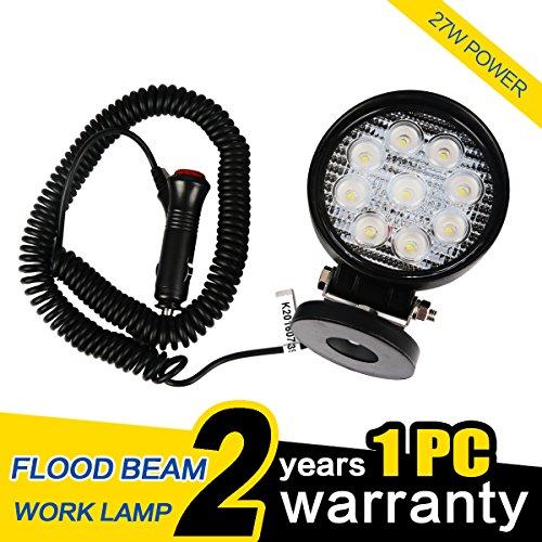 WOWLED Round LED Floodlight Magnetic product image