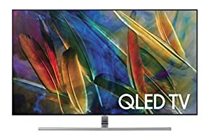 Samsung QN55Q7F Flat 55-Inch 4K Ultra HD Smart QLED TV (2017 Model)