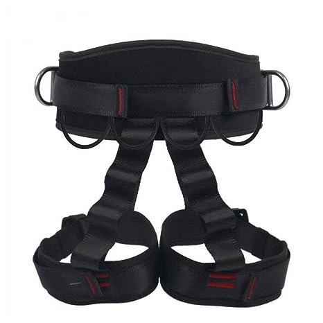 ZBHW Arnés de Escalada Cinturón de Seguridad Medio Cuerpo Cinturón ...