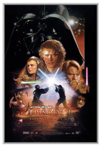 Star Wars - Episode III Framed Poster - Quality Silver Metal Frame