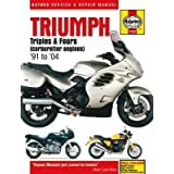 Haynes Triumph 750-900 Triples and 1200 Fours Manual M2162