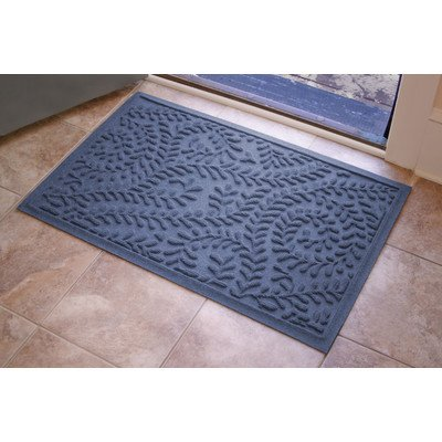 AquaShield Boxwood Mat Size: 2' x 3', Color: Navy