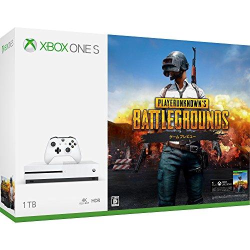 XboxOneS本体 1TB PUBG同梱版