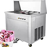 Forkwin Commercial Roll Maker 1060W Fried Ice Cream Machine...