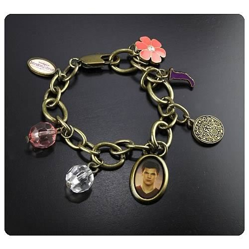 Twilight Breaking Jacob Charm Bracelet