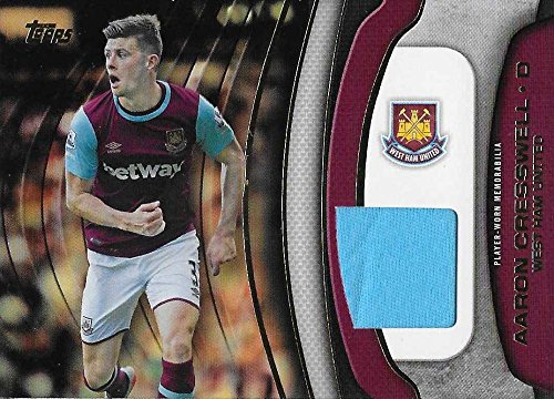 2015 Topps Premier Gold Football Fibers Relics #FF-AC Aaron Cresswell NM-MT MEM from Premier Gold