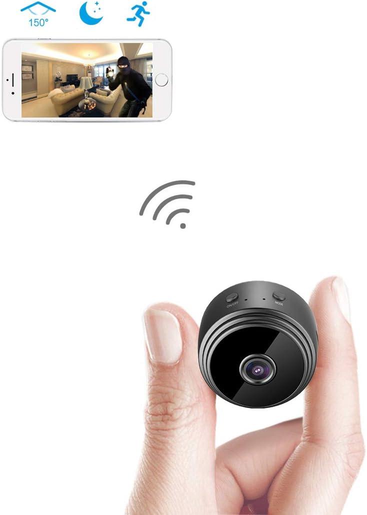 AREBI Spy Camera Wireless Hidden WiFi Mini Camera – Portable Hidden Car Camera