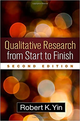 Book cover: qualitative research from start to finish