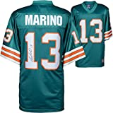 Dan Marino Miami Dolphins Autographed Teal Pro-Line Authentic Jersey - Fanatics Authentic Certified - Autographed NFL Jerseys