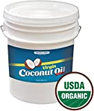 5 Gallon Coconut Oil - 100% USDA Certified Organic Virgin