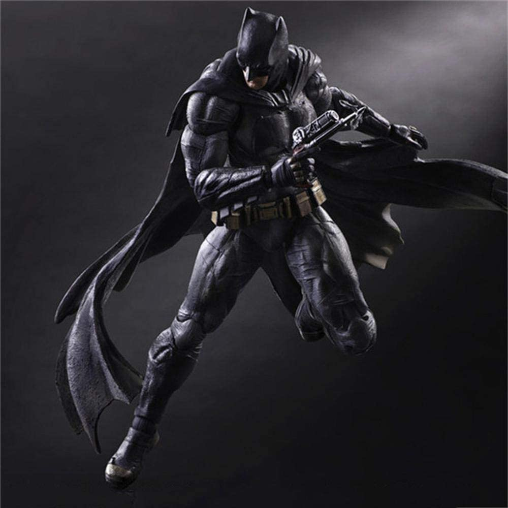 DC PA Cambie Batman V Superman: Dawn of Justice Batman Reloading Character Model Juguetes para Niños Batimóvil,OneSize