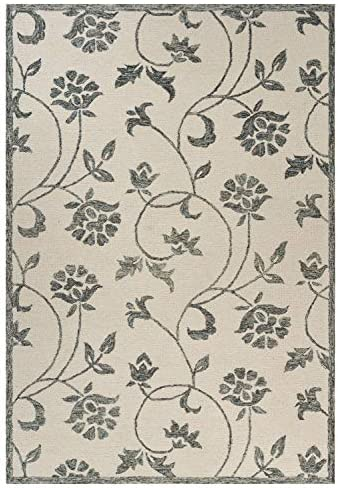 LR Home Hint of Floral Indoor Area Rug